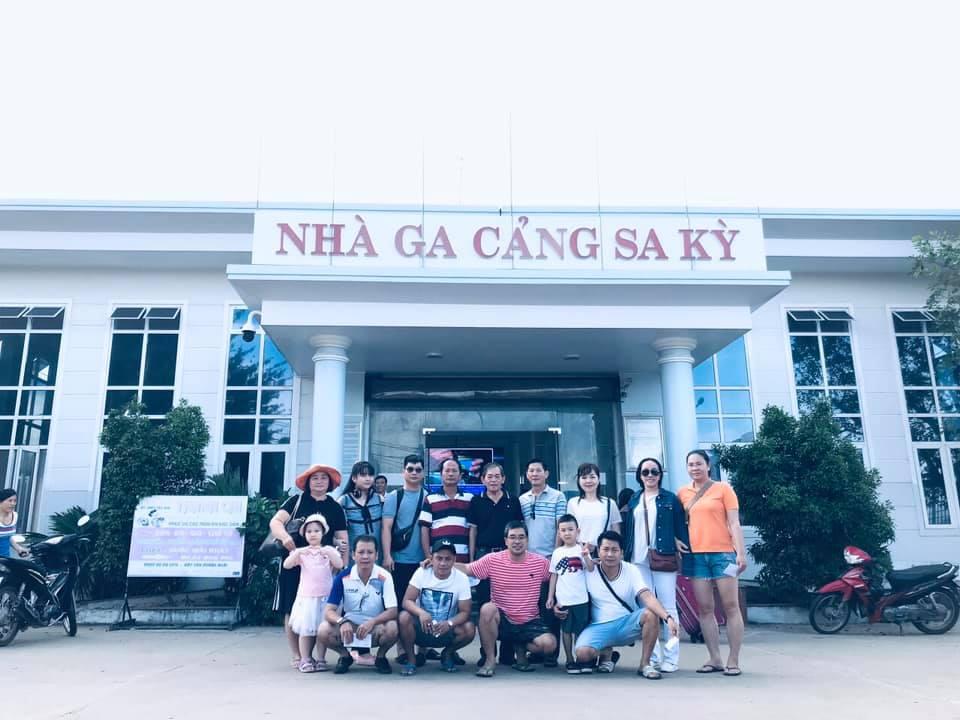 Tour Lý Sơn 2 ngày 1 đêm - Đón Cảng Sa Kỳ