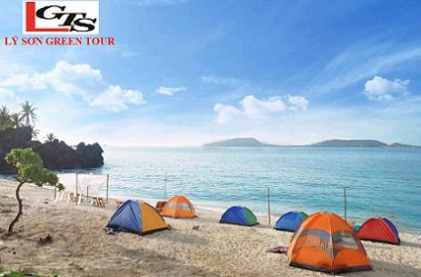 Tour Lý Sơn 2 ngày 1 đêm từ Đà Nẵng - Cắm trại, tắm biển, BBQ