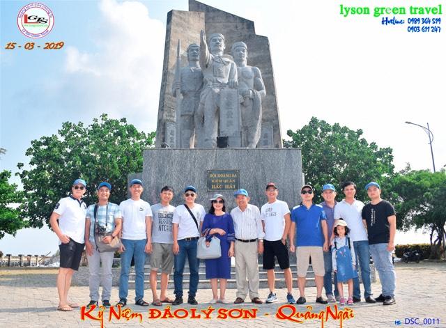 Tour Lý Sơn 3 ngày 2 đêm từ Nha Trang - Đón Ga Quảng Ngãi
